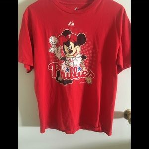 Philadelphia Phillies Mickey Mouse shirt